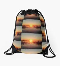 Sunset in Botswana  Drawstring Bag