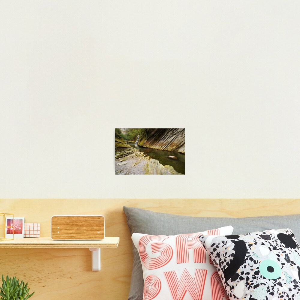 Autumn in the canyon Photographic Print