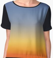 Sunset sky colors -  Women's Chiffon Top