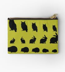 Little Forest Animals - Mustard Studio Pouch