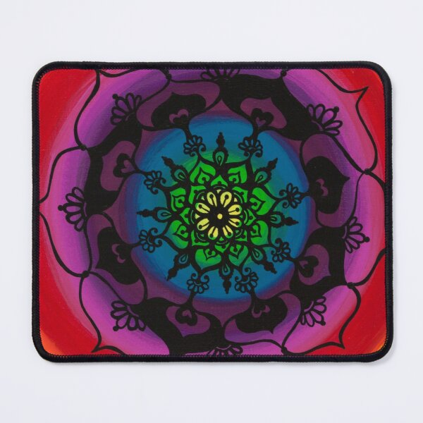'Brightly Bloom' Mouse Pad