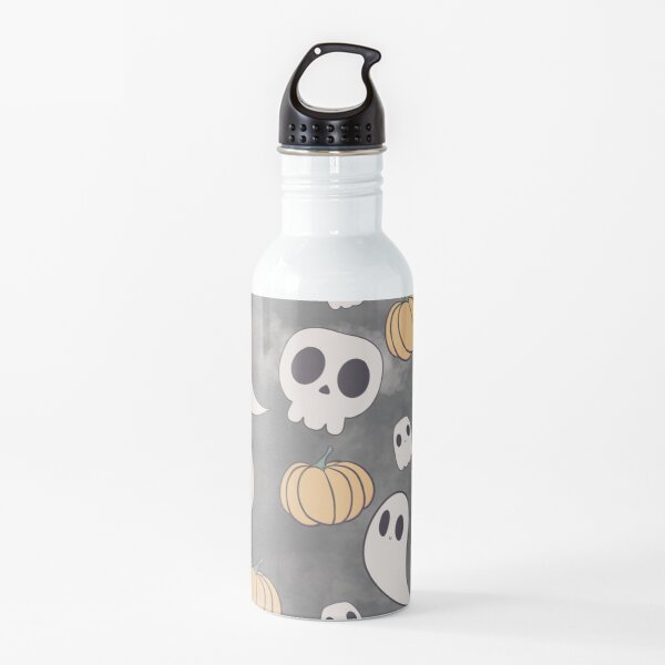 Cute Halloween Ghost Pumpkins  Water Bottle