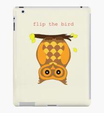 flip the bird iPad Case/Skin