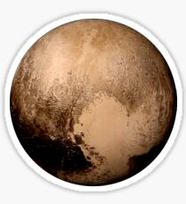 Pluto super high resolution Sticker
