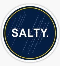 SALTY. Sticker