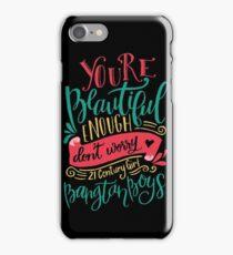 BTS - 21 Century Girl Black iPhone Case/Skin