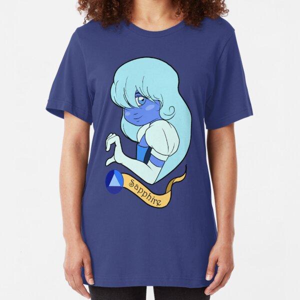 Steven Universe - Sapphire Camiseta ajustada