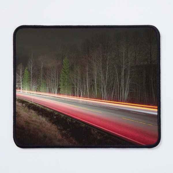 Streams of light Mouse Pad