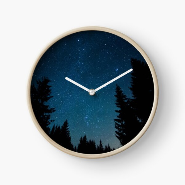 Alone with the trees Clock