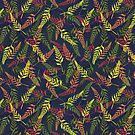 Tropical Bud Pattern 2 by lottibrown