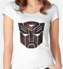 Autobots Abstractness Women's Fitted Scoop T-Shirt