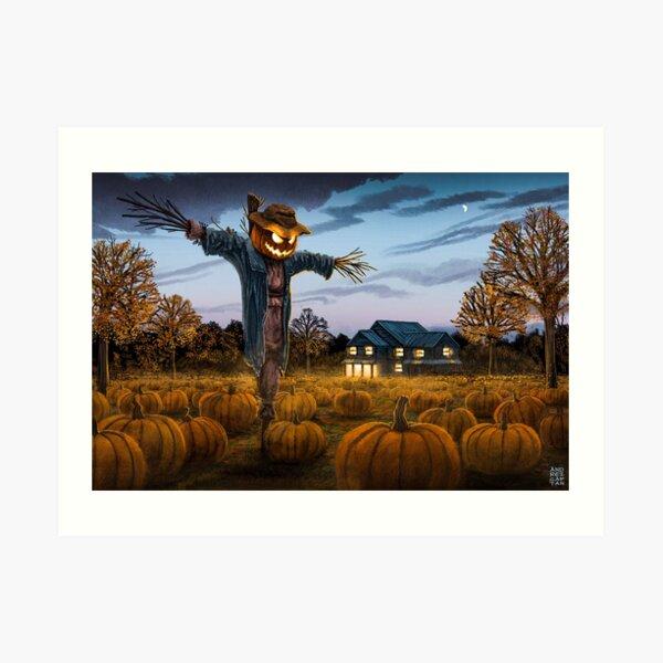 Pumpkin Patch - Illustration Art Print