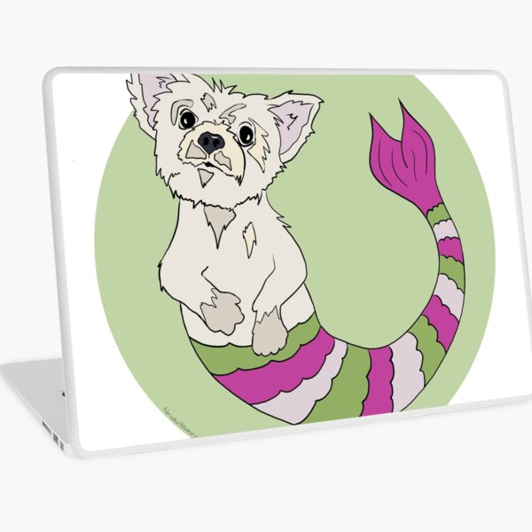 Eugene the Yorkie Murmutt Laptop Skin