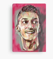 Mesut Ozil - Arsenal Genius Metal Print