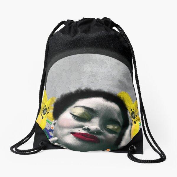 Moon Bath Drawstring Bag