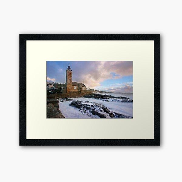 Porthleven, Cornwall Framed Art Print