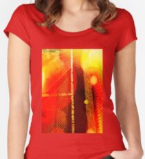 Heat 3 Women's Fitted Scoop T-Shirt