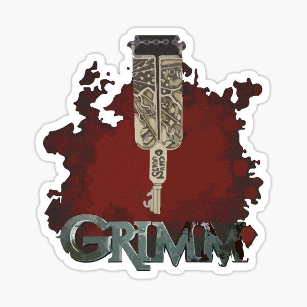 Grimm key Sticker