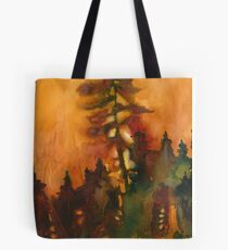 Forest Fire #1 Tote Bag
