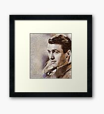 Jimmy Stewart Hollywood Actor Framed Print