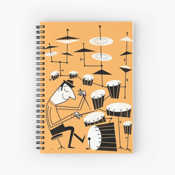 Play that beat Spiral Notebook