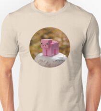 Minecraft Pig Lego Unisex T-Shirt