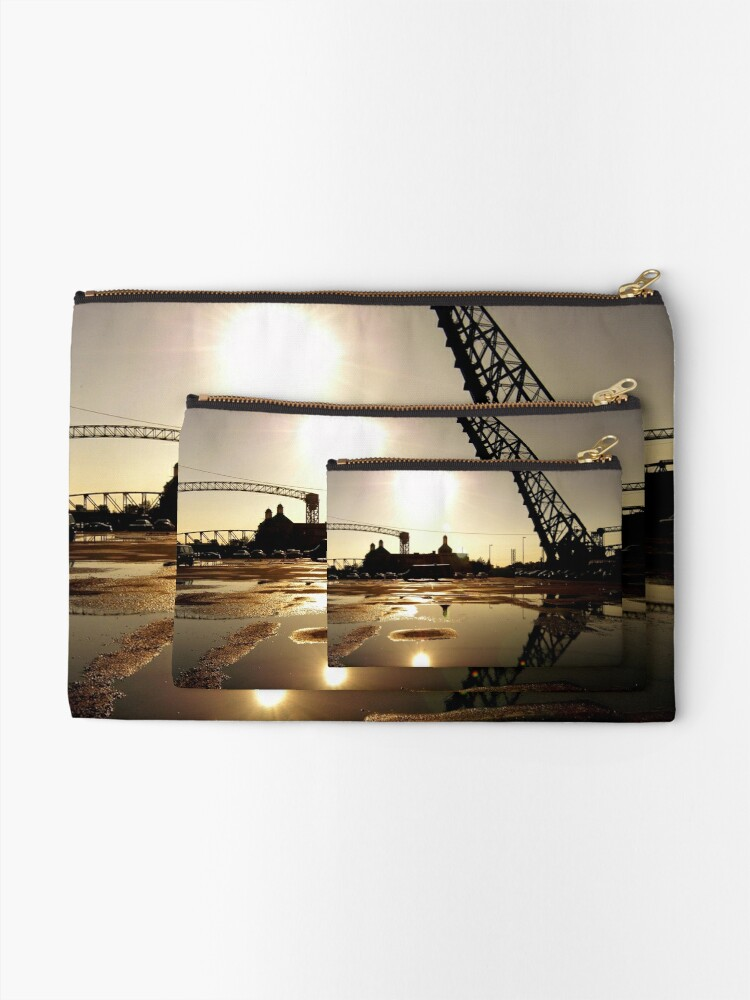 Alternate view of Cleveland, Ohio 2 Zipper Pouch