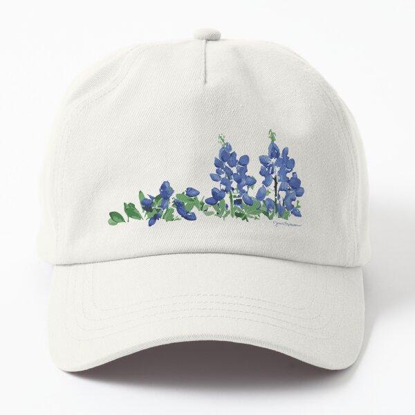 Bluebonnet Wild Flowers Dad Hat