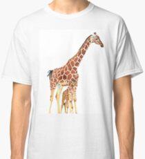 Giraffe Art - A Mother's Love - By Sharon Cummings Classic T-Shirt