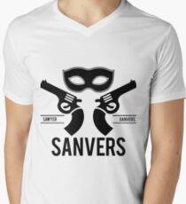 Sanvers Fight Club Men's V-Neck T-Shirt