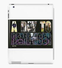 ADTR TOUR 2016 CUIT LIMO iPad Case/Skin