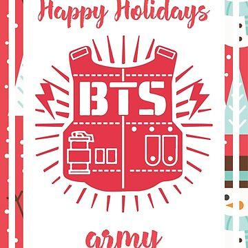B.A.P Happy Holidays Snowman Version by jongminguk
