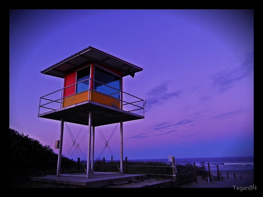 Tower @ sunset by Tegan84