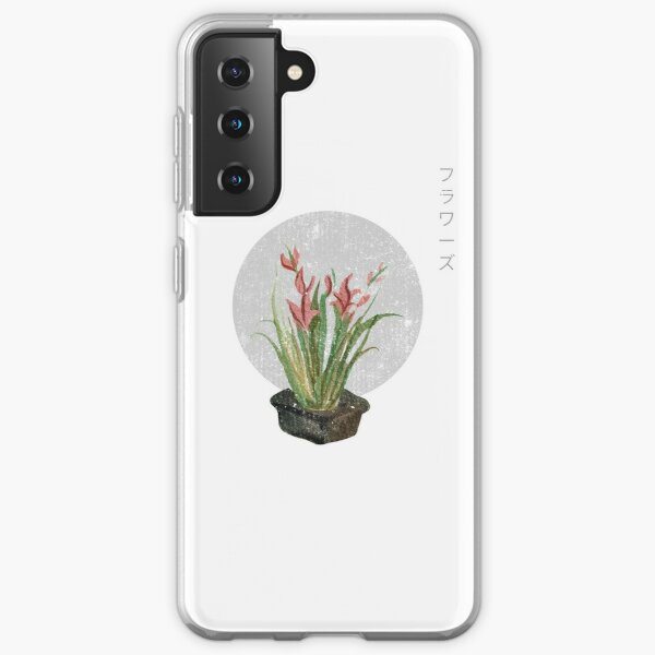 Japanese Plant Art Samsung Galaxy Soft Case