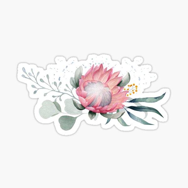 Protea Posy Sticker