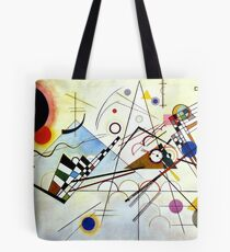 Composition n ° 8 Vassily Kandinsky abstract Tote Bag