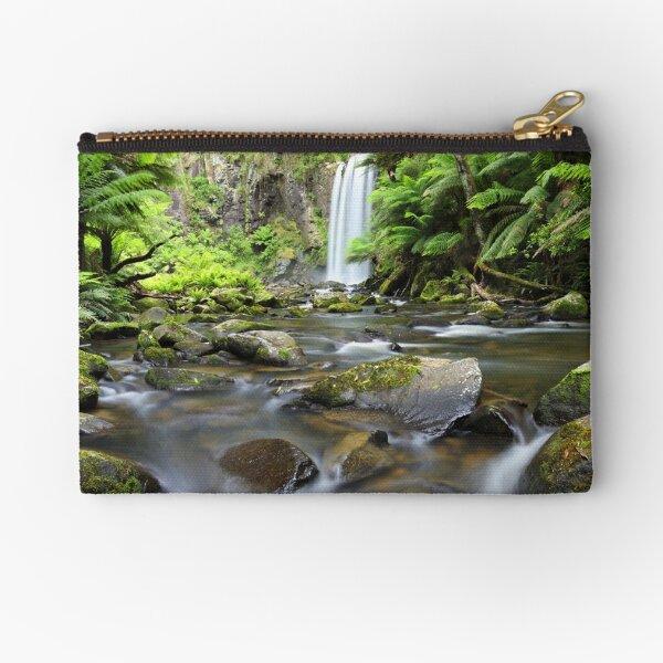 Hopetoun Falls, Otways, Great Ocean Road, Victoria, Australia Zipper Pouch