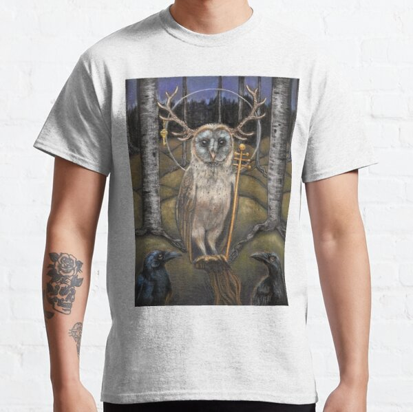 Le Pape Tarot card the Hierophant  Classic T-Shirt
