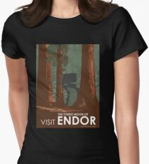 Visit ENDOR Women's Fitted T-Shirt