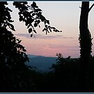 Sunset Dublin Mountains by dOlier