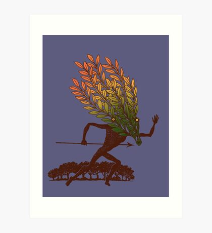 From the Wild Wood Art Print