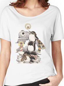 Penguins intrepid Women's Relaxed Fit T-Shirt