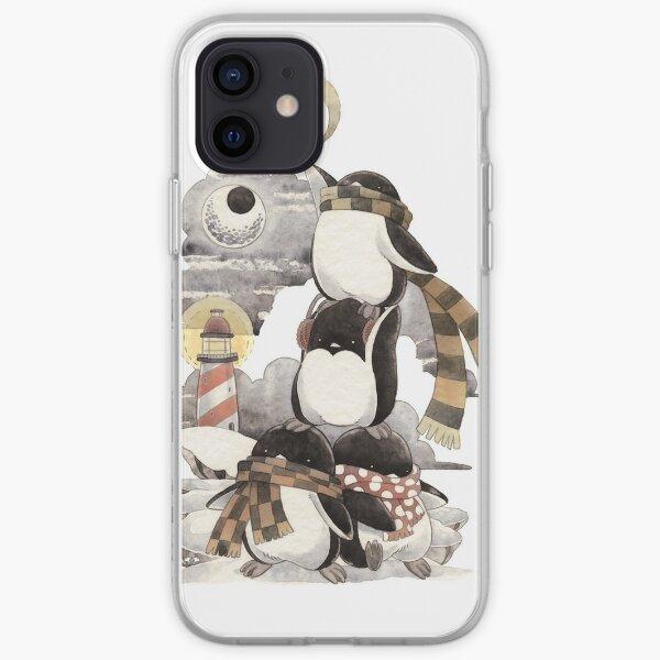 Penguins intrepid iPhone Soft Case