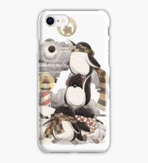 Penguins intrepid iPhone Case/Skin
