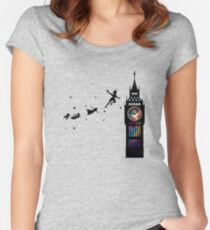 Peter Pan The Second Star Women's Fitted Scoop T-Shirt
