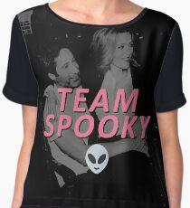 Team Spooky Women's Chiffon Top