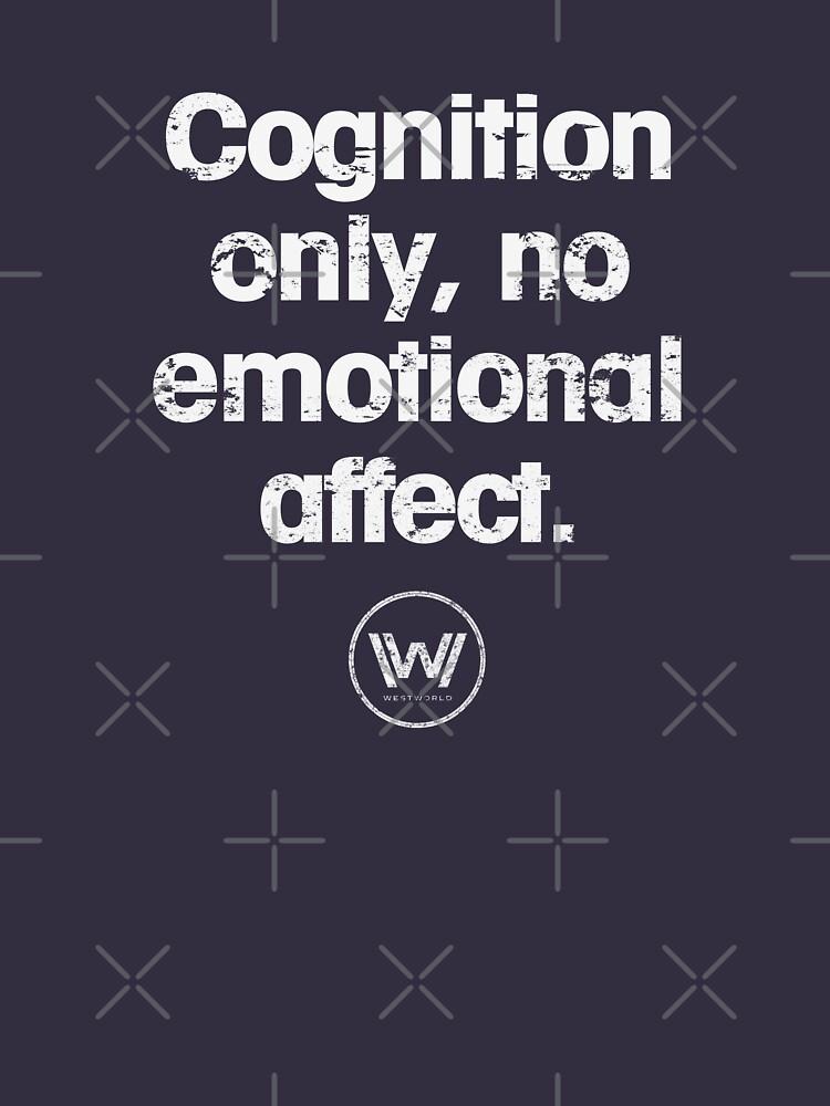 Cognition only - westworld park code  | Unisex T-Shirt