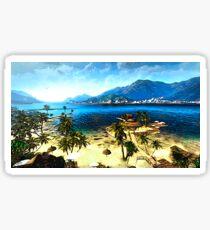 dead island beach Sticker