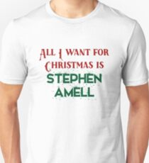 All I want for Christmas is Stephen Amell T-Shirt