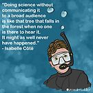 #SciComm100: Isabelle Côté by ScienceBorealis
